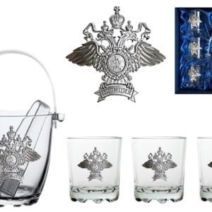 Виски сет подарочный Полиция