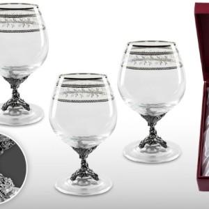 Набор бокалов для коньяка Виноградная лоза