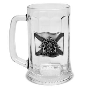 Подарочная пивная (для кваса) кружка Военно-Морской Флот