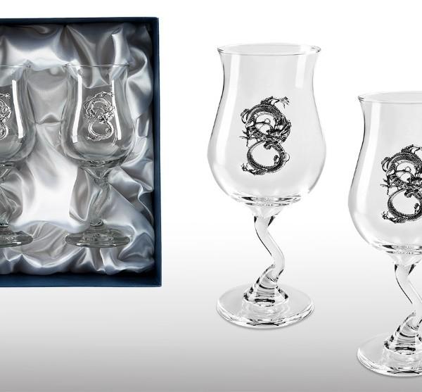 Подарочный набор бокалов для коктеля Мудрость и Сила