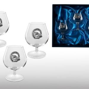 Подарочный набор бокалов для коньяка (бренди) Лучшему Водителю
