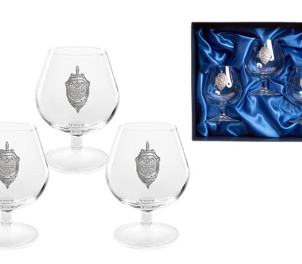 Подарочный набор бокалов для коньяка (бренди) Стандарт ФСБ