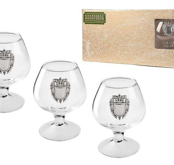 Подарочный набор бокалов для коньяка (бренди) ФСО