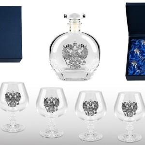 Подарочный набор бокалов для коньяка и бренди Высшее Общество