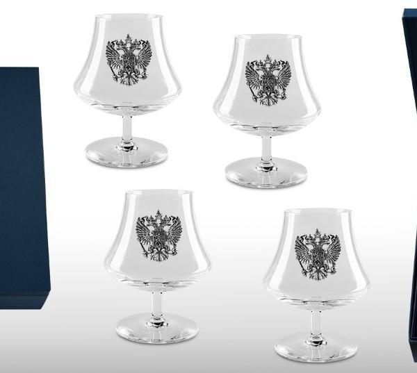 Подарочный набор бокалов для коньяка и бренди Элитный