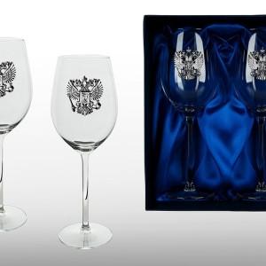 Подарочный набор бокалов для красного вина Державный