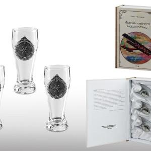 Подарочный набор водочных стопок Истоки Лётного Мастерства