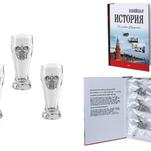 Подарочный набор водочных стопок Новейшая История России
