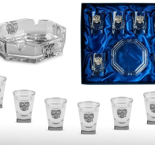 Подарочный набор для водки Застольный
