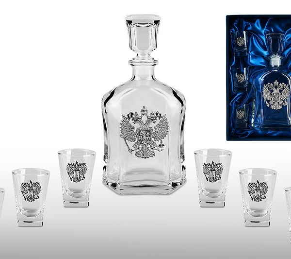 Подарочный набор для водки Империя