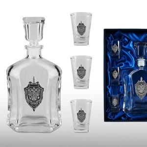 Подарочный набор для водки ФСБ