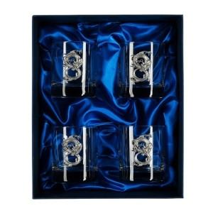 Подарочный набор стаканов для виски и рома Властитель