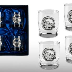 Подарочный набор стаканов для виски и рома Лучшему Водителю