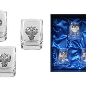 Подарочный набор стаканов для виски и рома Прокурорский Стандарт