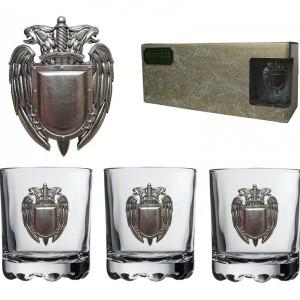 Подарочный набор стаканов для виски и рома ФСО
