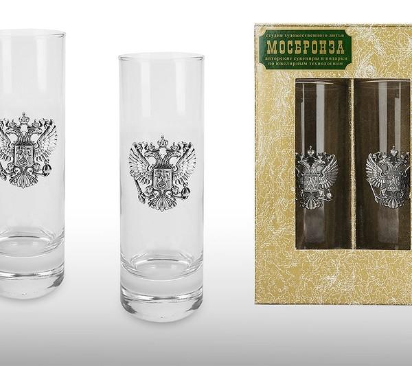 Подарочный набор стаканов для воды Служба Протокола