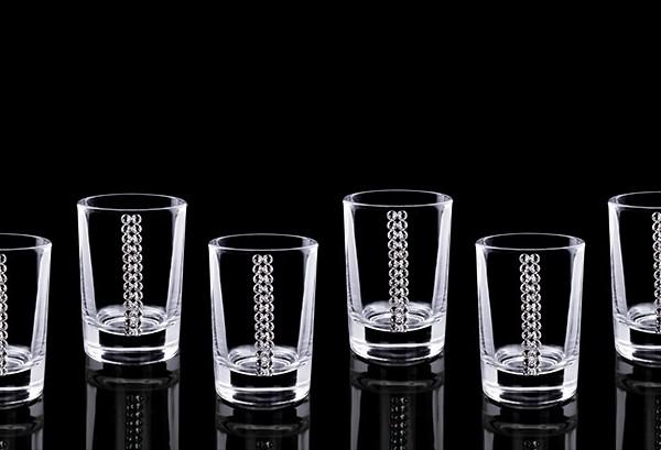 Подарочный набор стопок для водки Алмазный Фонд