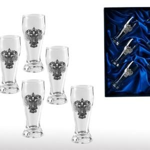 Подарочный набор стопок для водки Прокуратура
