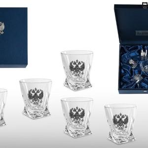 Подарочный набор стопок для водки Элитный